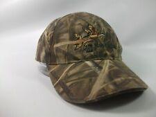 Jones Walker Duck Camo Hat Broken Light Camouflage Hook Loop Baseball Cap