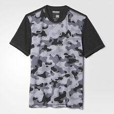 nwt~Adidas AEROKNIT CLIMACOOL CAMO TEE Gym Running Work out Shirt Top~Men sz Lrg