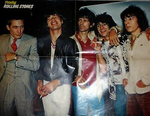 Rolling Stones, Mick Jagger, Poster aus Rocky, ca. DIN A 2