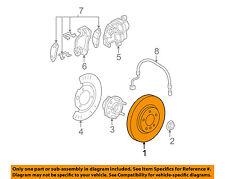 GM OEM Front Brake-Disc Rotor 23127613