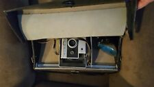 Vintage Polaroid Automatic 250 Land Camera with Case and Flash