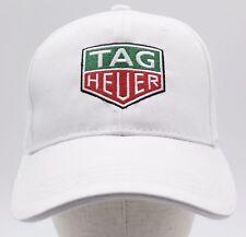 TAG HEUER CAP GORRA WHITE GENUINE ORIGINAL KAPPE BERRETTO BORDADOS NEW ONE  SIZE 978c091a292