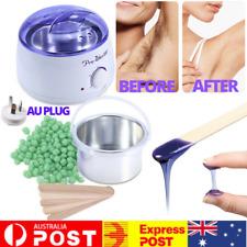 Hard Wax Kit Depilatory Hair Removal Bean Heater Warmer Pot Machine Hair Remover