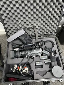 Sony HDV-Z1P Professional Camcorder with Pelican case and accessories