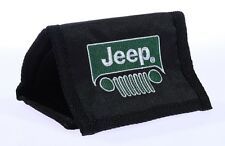 NEW JEEP BLACK WALLET flag wrangler liberty compass cherokee