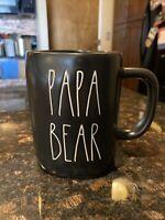 Rae Dunn by Magenta Papa Bear Black Coffee Mug 2020 Collection SHIPS FREE TODAY!