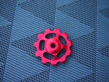 microSHIFT Schaltröllchen Alu CNC gefräst rot