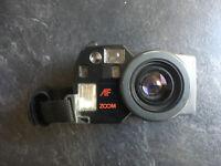 Olympus AZ-300 Superzoom 35mm Camera Compact Film Retro SuperZoom Working.