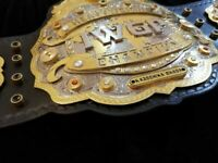 IWGP V4 Heavyweight Championship Belt 2mm Brass Brand New Wrestling Title