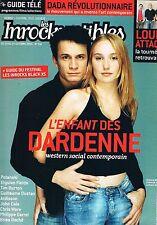 Les Inrockuptibles   N°516  -  19 Au 25 Octobre 2005 - Dardenne Louise attack Po
