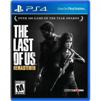 The Last Of Us Remastered Game PS4 - Brand New!
