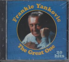 "FRANKIE YANKOVIC  ""The Great One""  NEW SEALED SLOVENIAN POLKA CD"