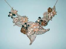 Pilgrim Damen-Halskette Floral Vibe versilbert multimix 45 cm  25121-6831