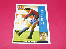 SERGI BARJUAN FC BARCELONA PANINI LIGA 95-96 ESPANA 1995-1996 FOOTBALL