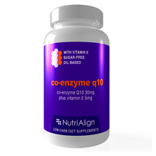 Nutri-Align Co-Enzyme Q10 30mg - 90 capsules. Oil-based. Great anti-oxidant.