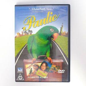 Paulie Movie DVD Region 4 PAL Free Postage - Comedy