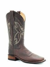 Corral Circle G Womens Western Cowboy Boots Stitched Leather Square Toe Brown