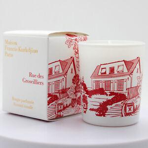 Maison Francis Kurkdjian Rue des Groseilliers scented candle 35gr(1.2oz), new