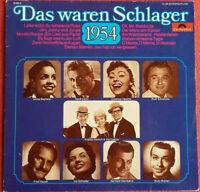 Das waren Schlager 1954 LP Vinyl Rudi Schuricke / Rene Carol / Fred Rauch uvm