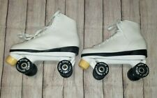 Roller Derby Womens Quad White Skates US9 Urethane Wheels L@@K