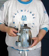 Pot cornichons Céramique Philippe CHARVET Le Fennec DIEULEFIT St Nazaire Desert