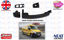 NEW VAUXHALL MOVANO SIDE LOADING  SLIDING DOOR HANDLE DRIVER SIDE 2010 >OS