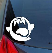 Super Mario Bros Grande Boo Vinilo Adhesivo Nintendo Ghost Portátil Coche Camión