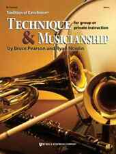 """Tradition Of Excellence """"Technique & Musicianship"""" Clarinet Music Book Brand New"""