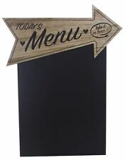 Heart Arrow Kitchen Chalkboard 'Today's Menu'