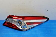 Toyota Camry 2018 2019 Right Passenger side Taillight Original OEM 18 19