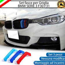 BMW SERIE 3 F30 F31 COVER PER GRIGLIA IN STILE M SPORT AD INCASTRO NO ADESIVO