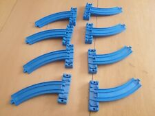 Tomy Tomica Trackmaster Train Track Curved Incline Ramp Slope Riser 8 x A