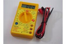 Tester multimetro digitale prova pile batterie corrente tensione consumo orologi