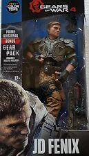 "Gears OF WAR 4 JD Fenix 7"" pollici Action Figure Di Colore Top Blu McFarlane"