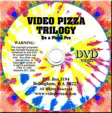 Pizza Baking Class 2 Dvd Gift Set 137 Min Italian Bread Cooking Oven Pan Q