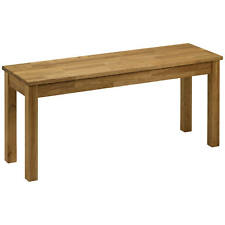 Solid American White Oak Wooden Dining Room Kitchen Bench