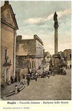 MAGLIE  -  Piazzetta Colonna - Madonna delle Grazie