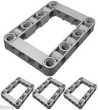 x4 Lego Beam FRAMES (technic,mindstorms,robot,nxt,ev3,liftarm,structure,chassis)
