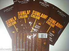 5 x Postquam sachets packet 8ml each, tanning accelerator sun lamp showers beds