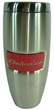 New Budweiser Stainless Steel Tumbler Beer Travel Mug Thermos Coffee Cup 18oz