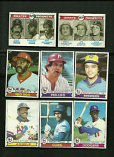 1978 & 1979 TOPPS BASEBALL ~ YOU PICK (30) ~ BIG LIST~ COMPLETE YOUR SET  EX-NM