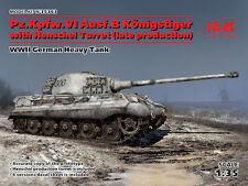 ICM 1/35 Pz.Kpfw.VI Ausf.B King Tiger with Henschel Turret # 35363