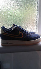 NIKE 2010 1 Scuro AIR FORCE OSSIDIANA Denim 8.5UK