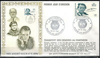 1996 - ENVELOPPE ILLUSTREE FDC 1°JOUR - ANDRE MALRAUX - TIMBRE Yv.3038