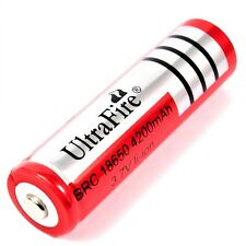 1 x Ultra Fire 4200 mAh Lithium Ionen Akku 3,7 V  von BRC Typ 18650 battery pack