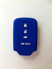 Blue Fob Remote Key Case Cover for 2014 2015 2016 HONDA Accord Civic Keyless