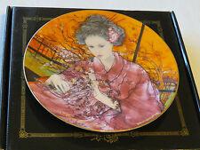 Madama Butterfly plate 38-P63-1.4 1987 Coa Box Riccardo Benvenuti Bradford #%