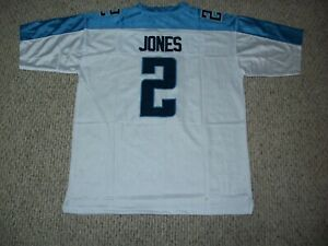 JULIO JONES Unsigned Custom White Tennessee Sewn New Football Jersey Sizes S-3XL