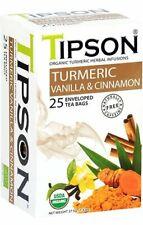 Ceylon Tea 25 tea bags_Organic Turmeric Vanilla & Cinnamon