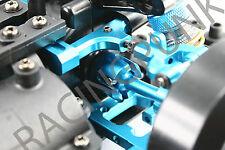 RC Car Hop Up Upgrade Alloy Front Rear Gear Box joint for Tamiya TT01 TT01E BLUE